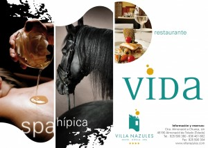 Elige tu experiencia Villa Nazules