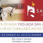 Villa Nazules te abre las puertas de la Yeguada San José