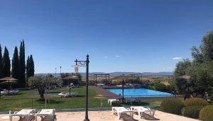 Piscina Villa Nazules hotel Toledo