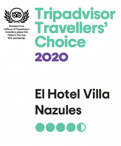 Premio Traveller Choice 2020 Tripadvisor