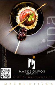 Carta Restaurante Otoño Invierno Mar de Olivos