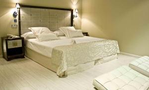 Habitacion con balcón en hotel con SPA y piscina en Toledo