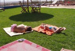 Jardines infantiles en hotel para niños en Toledo