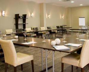 Sala para reuniones de empresa y presentacion de producto