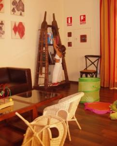 Zona infantil hotel Villa Nazules