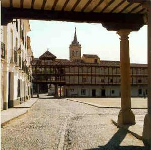 Plaza Mayor de Tembleque