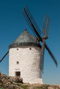 Molino en Consuegra; de Michal Osmenda | Wikimedia Commons