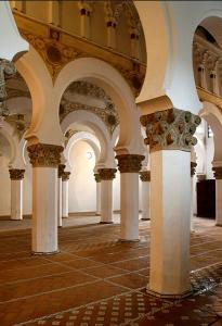 Sinagoga Santa Maria la Blanca; de kurtxio | Wikimedia Commons