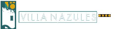 Logotipo Hotel 4 estrellas Villanazules.Toledo